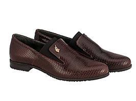 Туфлі Etor 5891-51046-1 36 бордо