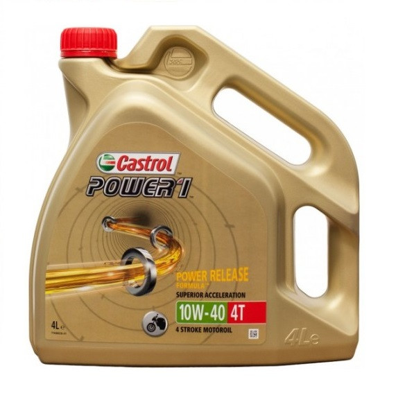 Масло моторное CASTROL Power 1 4T 10W-40 4л