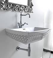 Умывальник подвесной декорированный 70 см ArtCeram Jazz Италия