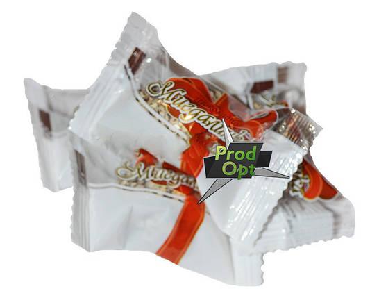 """Цукерки Ф/П """"Мигдалинка"""" з молочно-шоколадним праліне в глазурі 1,7кг , фото 2"""