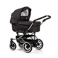 Детская Универсальная коляска-трансформер Edge Duo Combi LOUNGE BLACK - Emmaljunga Швеция модульная