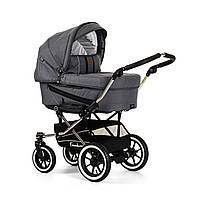 Детская Универсальная коляска-трансформер Edge Duo Combi LOUNGE GREY - Emmaljunga Швеция модульная