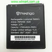 Аккумулятор для Prestigio 5400 1700мАч PAP5400DUO. Оригинал.