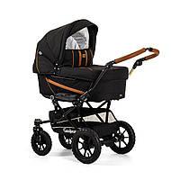 Детская Универсальная коляска-трансформер Edge Duo Combi OUTDOOR BLACK - Emmaljunga Швеция модульная