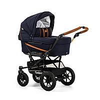 Детская Универсальная коляска-трансформер Edge Duo Combi OUTDOOR NAVY - Emmaljunga Швеция модульная
