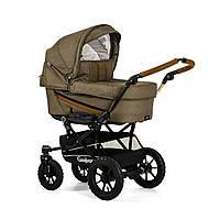 Детская Универсальная коляска-трансформер Edge Duo Combi OUTDOOR OLIVE - Emmaljunga Швеция модульная