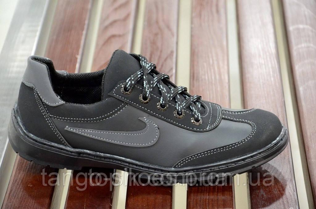 9600f646471 Туфли спортивные кроссовки мокасины мужские черные nike реплика Львов. -  Танго - обувь со скидками