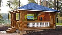 Строительство деревянных беседок