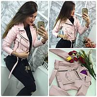 Женская куртка косуха в расцветках 443 (Zara2)
