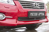 Защитная сетка решетки переднего бампера Toyota Rav4 2011-2012 г.в. Тойота Рав4