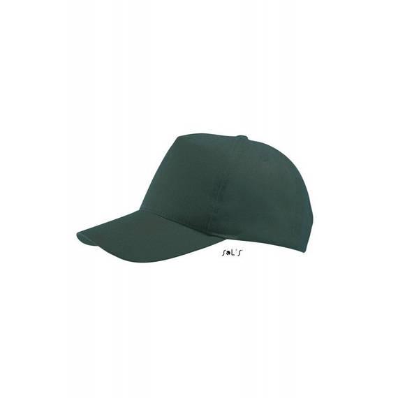 Бейсболка, кепка лесная зелень SOL'S BUZZ, Франция, 11 цветов, рекламные под нанесение логотипа