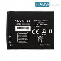 Аккумулятор (батарея) Alcatel OT710A / OT385 оригинал