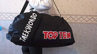 Сумка - рюкзак TOP TEN - Taekwondo размер М