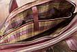 Мужская кожаная деловая сумка Blamont 012 коричневая, фото 7