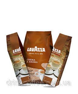 Кофе в зернах Lavazza Crema e Aroma, 40% Арабика/60% Робуста, Италия, (оригинал) 1 кг