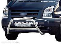 Защита бампера Ford Transit 2006-2014  п.к. RR006