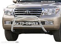 Защитная дуга Toyota Land Cruiser 200, нержавейка