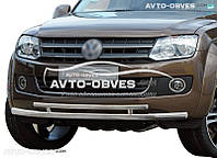 Защита бампера нижняя VW Amarok 2011-2015