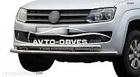 Защитная дуга передняя VW Amarok двойная труба