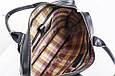 Кожаная мужская деловая сумка Blamont 013 черная, фото 6