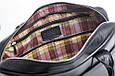 Кожаная мужская деловая сумка Blamont 013 черная, фото 7