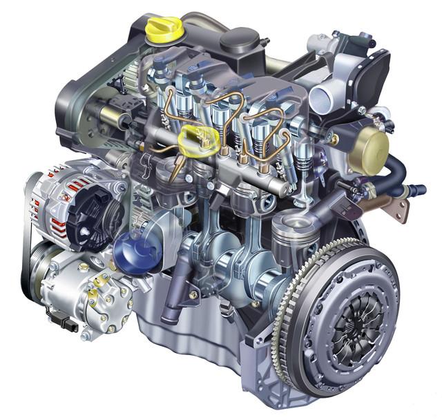 Детали двигателя Renault Captur