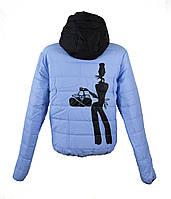 Демисезонная молодежная куртка LEKA