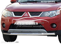 Нижняя защита бампера Mitsubishi Outlander XL 2007-2010 (п.к. V001)