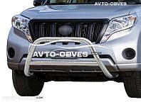Защитная дуга передняя Toyota Land Cruiser Prado 2014-..., нержавейка