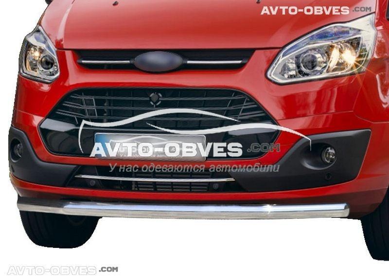 Нижній захист бампера Форд Торнео Кастом 2013-2020 (під замовлення) (вироб V001)