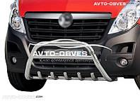 Защитный обвес переднего бампера Opel Movano 2011 - ...