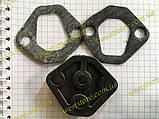 Ремкомплект бензонасоса Заз 1102,1103 Таврия Славута (прокладки 2ш +проставка), фото 4