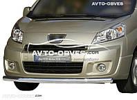 Защита переднего бампера Peugeot Expert  2007-2016 (п.к. V001)