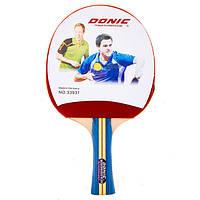 Ракетка для настольного тенниса для любителя + чехол для ракетки Donic