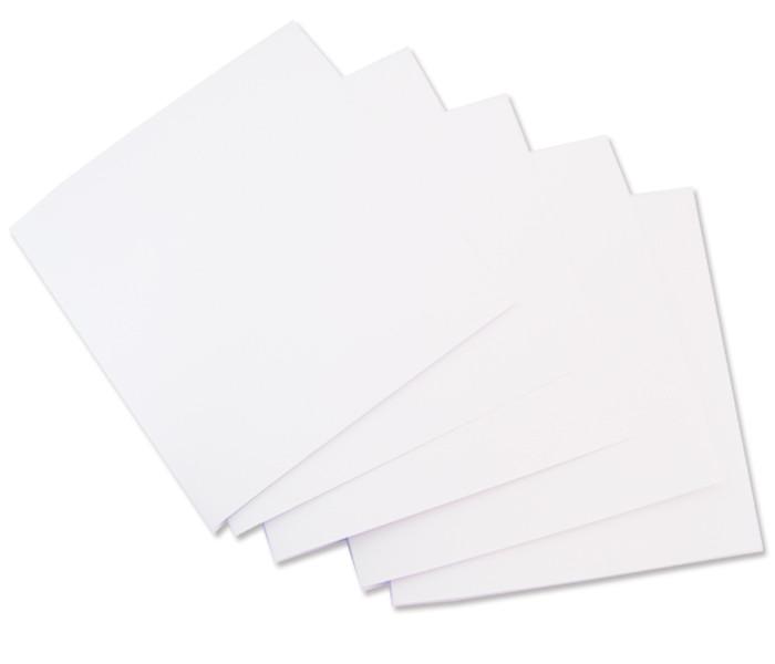 Набор заготовок для открыток, 15.5*15.5 см, №10, белый, ROSA Talent, 94099100