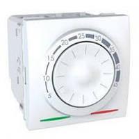 Регулятор температуры поворотный Schneider Серия: Unica Цвет: белый