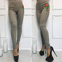 Женские штаны хаки бенгалин