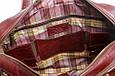 Мужская кожаная деловая сумка Blamont 013 коричневая, фото 8