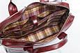 Мужская кожаная деловая сумка Blamont 013 коричневая, фото 7