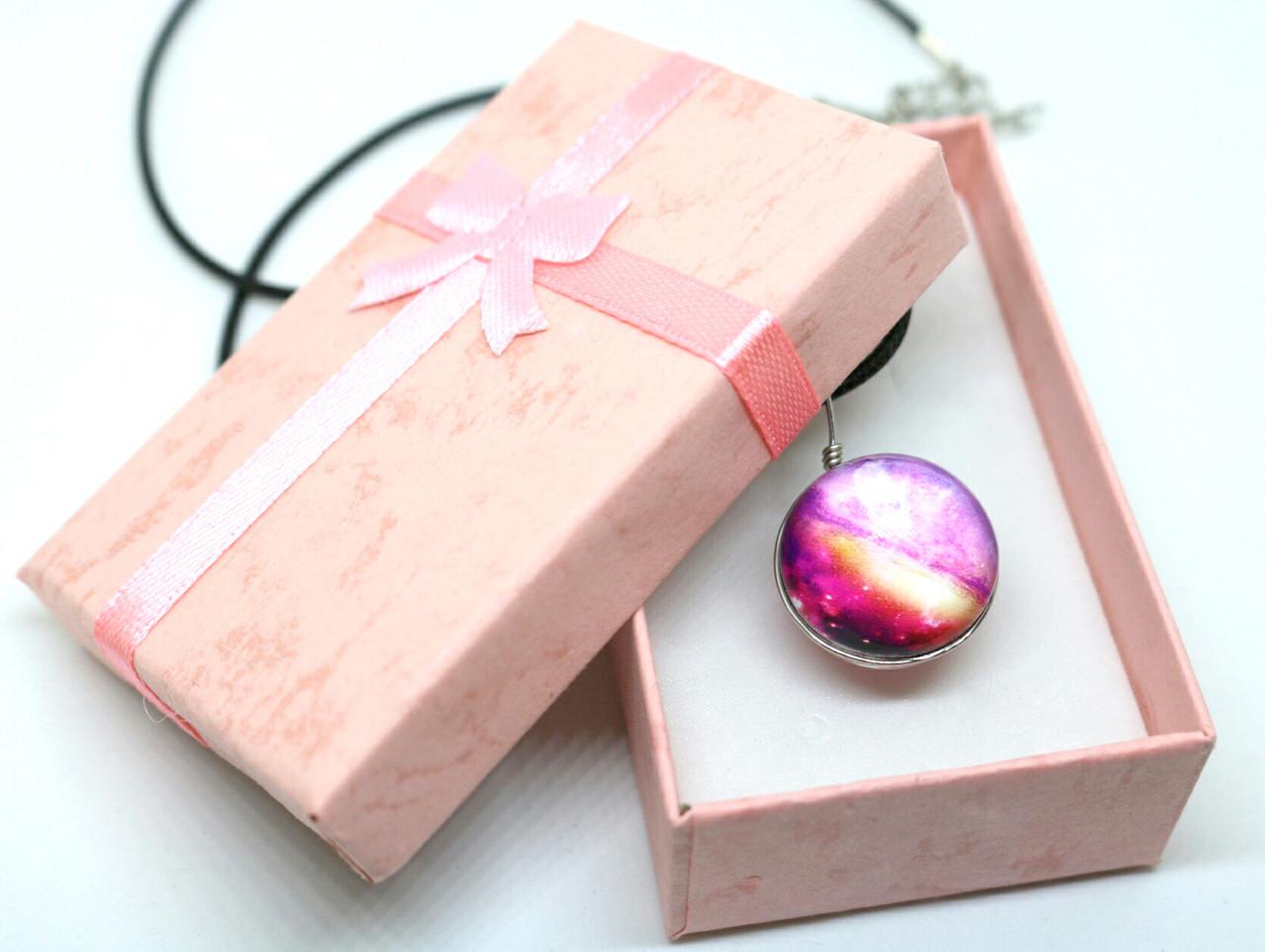 Коробочка подарочная для бижутерии Нежная Розовый