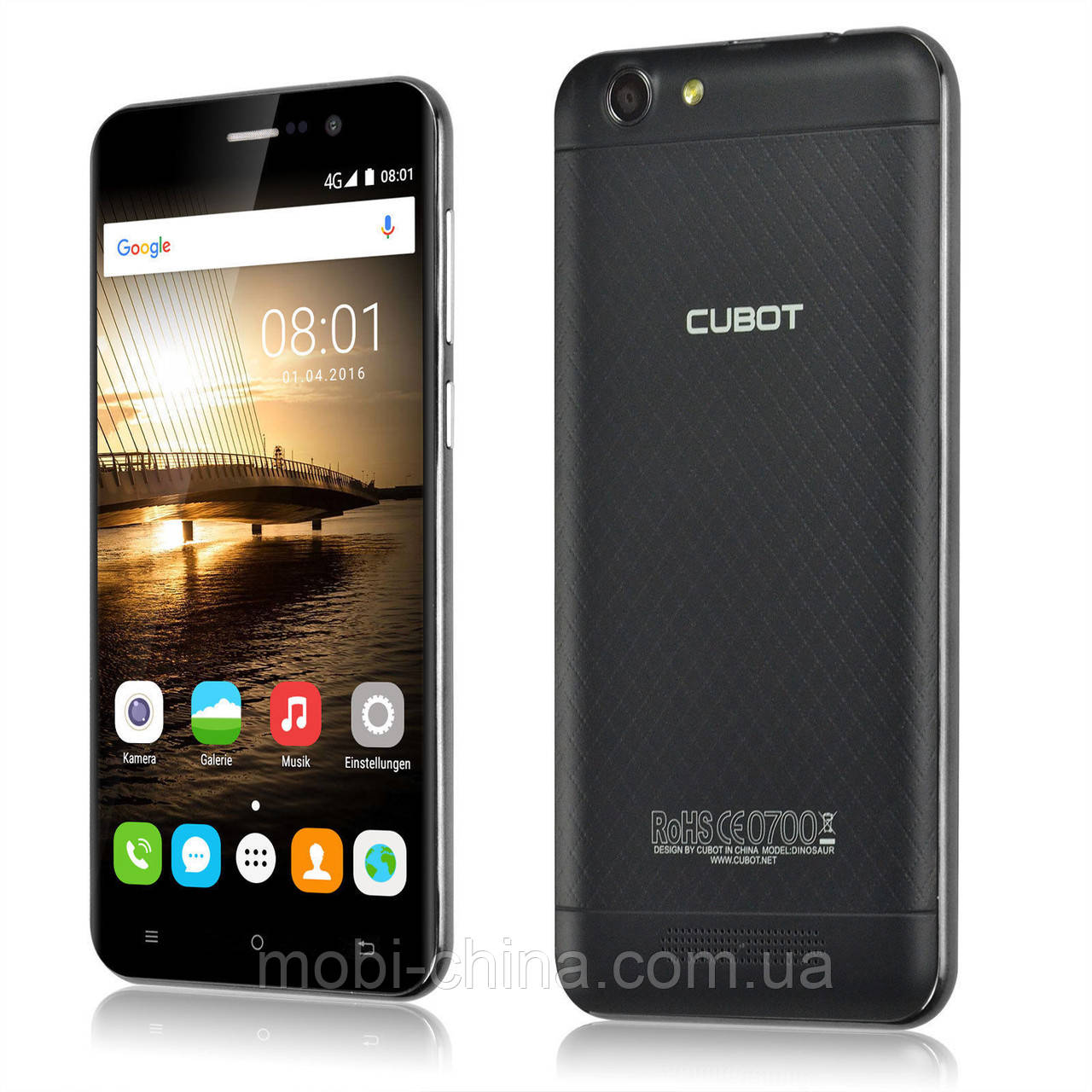 Смартфон Cubot Dinosaur 3/16GB Black '4