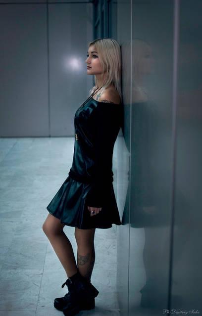 """Крутая Кристина в реглане №501 и юбке 309 от интернет-магазина """"Lubelia"""""""