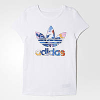 Детская футболка Adidas Originals Trefoil Graphic (Артикул: BJ8558)