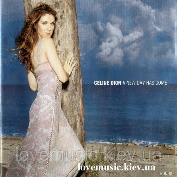 Музичний сд диск CELINE DION A new day has come (2002) (audio cd)