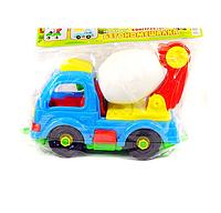 "Машина-конструктор ""Бетономешалка"" Toys Plast"