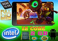 Супер МОЩНЫЙ игровой планшет Intel 12 Core, 2Gb RAM / 16Gb, 8'' FullHD (ОРИГИНАЛ)