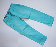 Голубые джинсы для девочек