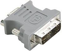 Переходник MirAks DV-3809 (Серый/пластик/DVI-Single-link - VGA (DVI-Single-link: 4+8+5))