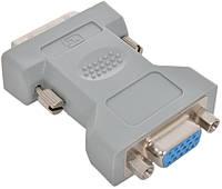 Переходник MirAks DV-3810 (Серый/пластик/DVI-Single-link - VGA (DVI-Single-link: 4+8+5))