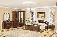Спальный гарнитур Алабама с 4-х дверным шкафом. Фабрики Мебель-Сервис